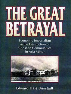 Edward Hale Bierstadt was Executive Secretary of the Emergency Committee for Near East Refugees in 1923, one of the main groups that assisted the survivor-refugees of the massacres and expulsions. http://greek-genocide.net/index.php/bibliography/books/197-the-great-betrayal-edward-hale-bierstadt