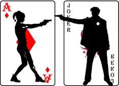 Joker & Harley Cards - the-joker-and-harley-quinn Fan Art