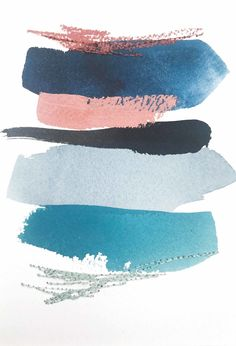 Color Study in Indigo blue grey black turquoise teal grey blue and blush p Colour Pallette, Colour Schemes, Teal And Grey, Pink Blue, Accent Colors For Gray, Blue Wall Colors, Blue And Copper, Metal Tree Wall Art, Wood Wall