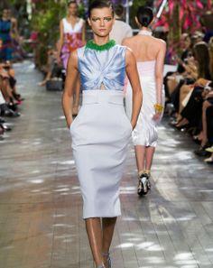 Christian Dior : prêt-à-porter Printemps Été 2014.