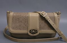 Women bag of ANGEL from a genuine leather. Fashion bag. Leather handbags