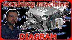Washing Machine Motor Wiring Diagram : 6 Steps - Instructables 3 Way Switch Wiring, Electrical Installation, Electrical Wiring, Mechanical Force, Washing Machine Motor, Bike Challenge, Universal Motor, Wash Brush, Magnetic Field