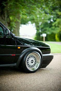 BBS wheels on a Mk2