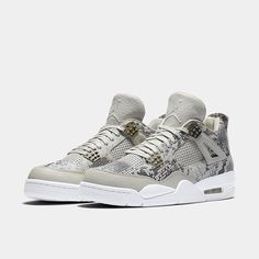 "The Nike Air Jordan 4 Premium ""Snakeskin"" is available at kickbackzny.com."