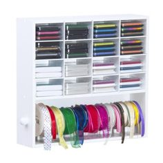 Ink Pads and Ribbon Organizer - Craft Storage