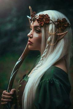 Amber is an elf queen preparing for a time of war
