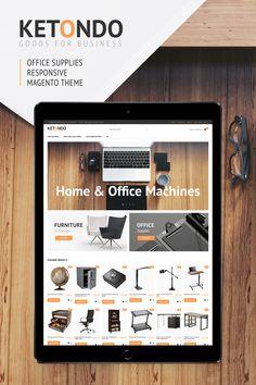 Magento Theme , Ketondo - Office Supplies