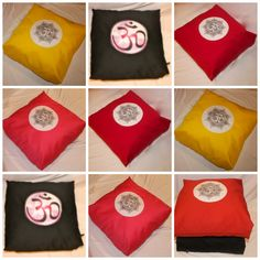 yoga pillow  http://www.etsy.com/shop/rusnascreations  hand made in canada