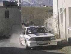 1982 MONTE CARLO RALLY - Opel Ascona 400. Drivers: Walter Rohrl / Christian Geistdorfer. Place: 1st o/a.