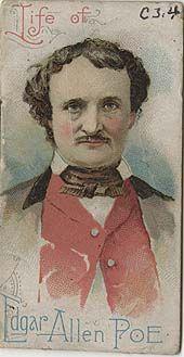 Edgar Allan Poe cigarette cards