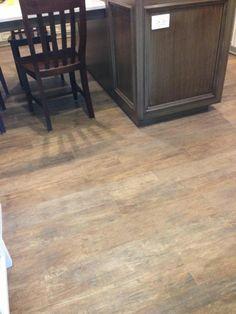 Too rustic - long tiles that look like wood flooring