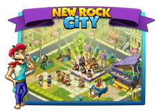 New Rock City: Blues Day Paradise City, Prehistoric, Create Yourself, Blues, Family Guy, Rock, Fictional Characters, Stone, Prehistory