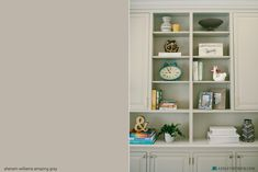 Amazing Gray - awesome paint color for cabinets!
