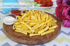 Dondurulmuş Patates Kızartması Tarifi   Kevserin Mutfağı - Yemek Tarifleri