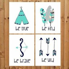 Tribal themed wall decor prints on Bamboo paper! In Teal, navy blue and grey colors. Available in multiple sizes and custom colors too! Nursery Themes, Nursery Prints, Themed Nursery, Tribal Nursery, Boy Nursery Art, Turquoise Nursery, Nursery Room, Cuadros Diy, Tribal Theme