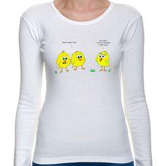 Koszulka z kurczakami. Wielkanoc z przymrużeniem oka ;)
