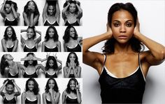 Zoe Saldana - Yu Tsai; Photo Booth