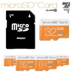Wholesale Product Snapshot Product name is Micro SD card 32GB memory card 128MB 2GB 4GB 8GB 16GB calss10 for Free TF Card Adapter + Gift Card Reader + Free shipping