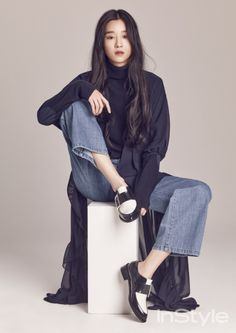 Seo Ye Ji - InStyle Magazine Februar-Ausgabe 16 - Koreanische Fotoshootings Source by Female Pose Reference, Pose Reference Photo, Art Reference Poses, Figure Drawing Reference, Body Reference, Instyle Magazine, Cosmopolitan Magazine, Style Ulzzang, Korean Photoshoot