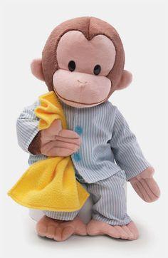 Gund 'Sleepy Curious George™' Stuffed Animal   Nordstrom