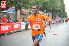 """Ronald Tintin and Ronning Against Cancer's Upcoming race « Les Bacchantes » (8 km) to support the fight against acancer by wearing the T-shirt of """"Institut Curie """"on Tuesday, November 11th 2014!!!"""