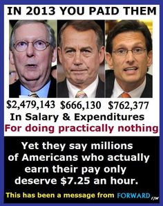 We need to stop voting party lines and pay attention to how these idiots are destroying our country.
