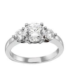 14K White/Yellow Gold 0.84 ct Round Brilliant Cut $849