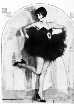 """Louise Brooks in a publicity shot for """"Now We're in the Air"""" 1927"""
