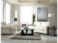 white living room sofa, modern design, neutral palette