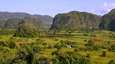 Riding through the Silent Valley of Vinales