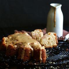 Butterscotch Cake With Caramel Cream