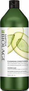 Biolage Cleansing Conditioner Coarse Hair  This low-lather, fast rinsing, soap-free (no-poo shampoo) Cleansing Conditioner for coarse hair with Avocado provides thorough cleansing and deep conditioning to restore smoothness and manageability for increased shine and suppleness.This co-washing formula can be used daily or in between traditional shampooing.
