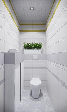 Ванная комната и санузел в скандинавском стиле. Ванная