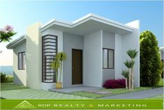 Simple small house design pictures small house design with rooftop awesome house plans designs floor simple . Modern Bungalow House Design, Modern Small House Design, Small Bungalow, Small House Interior Design, Bungalow Designs, 2 Bedroom House Design, Design Living Room, Indian Home Design, Style At Home