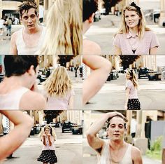 Immagine di shameless, lip gallagher, and mandy milkovich