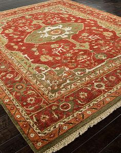 Columbus Area Rug - 9' x 12' : $3,810.00,  10' x 14' : $5,170.00. Available online at www.TheLookInteriorsNH.com