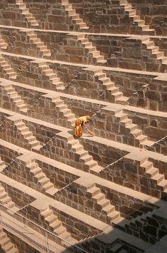 • CHAND BAORI • Rajasthan, India • ANCIENT STEPWELLS OF INDIA