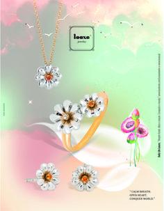 """Looxe: Campanha de Verão 2015 Nova coleção Looxe: """"É um maravilhoso mundo em flor!""""  #looxe #looxejewelry #jewelry #novacoleção #mundoemflor #flor #natureza #moda #luxoquotidiano  // Looxe : Summer Campaign 2015 New collection Looxe: """"It's a wonderful world in flower! """" #looxe #looxejewelry #jewelry #nuevacoleccion #mundoenflor #flor #naturaleza #moda #luxoquotidiano ANL4977/COL4977/PULL4977/TRL4977"""