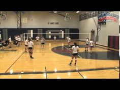 9 Player Pepper: Conditioning Drill for Setters and Hitters - Volleyball Toolbox Volleyball Positions, Volleyball Skills, Volleyball Practice, Volleyball Setter, Volleyball Games, Volleyball Training, Volleyball Workouts, Volleyball Quotes, Coaching Volleyball