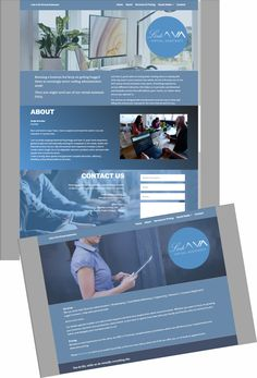 Web design for LinkAVA. Simple clean single pager. Administrative Work, Virtual Assistant, Web Design, Simple, Design Web, Website Designs, Site Design