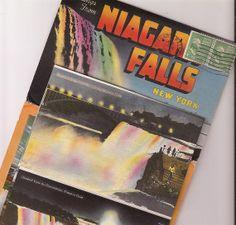 Niagara Falls souvenir booklet