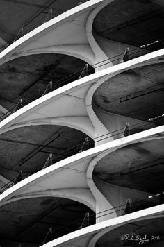 Marina City Repetition by rjseg1 on Flickr.