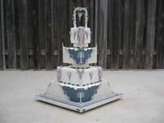 """Lord Of The Rings Cake This cake was originally designed for the OSSAS wedding division, which had to be based on something from """"..."""