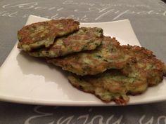 Courgettekoekjes/ zucchini cookies
