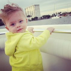 hi milo! :> chico's adorable son