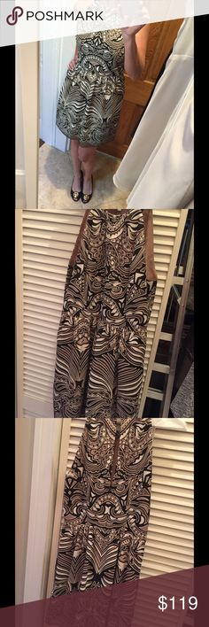BCBG NWOT dress size 4 BCBG dress NWOT!!! I Adore this dress but I needed a size 2! BCBG Dresses