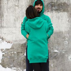 Pockets on the back , comfortable cut, soft warm fabric , front pockets and the ability to choose the style of doing hoodies Together Wear brand so attractive to people of all ages and interests .#matchingwear #couplewear #couplehoodies #couplehoodie #coupleclothes #togetherweare #togetherweareone #samelook #wearethesame