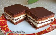 Érdekel a receptje? Candy Recipes, Cookie Recipes, Ital Food, My Favorite Food, Favorite Recipes, Brownie In A Mug, Something Sweet, Italian Recipes, Bakery