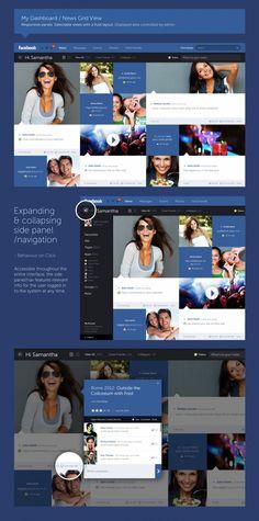 Un rediseño de Facebook, por Fred Nerby > Choosa.net