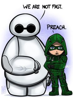 """""""Preach"""" @StephenAmell @ARROWwriters @CW_Arrow @ArrowProdOffice Hope everyone is enjoying the holiday season!!! Here's a lil something to make you smile today!! #lordmesaart @clip_celsys @Clip_Community_"""